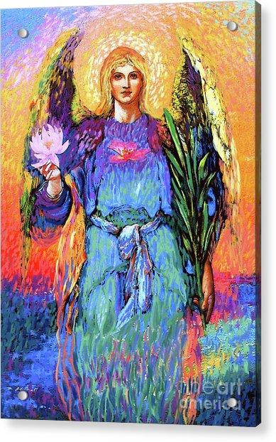 Angel Love Acrylic Print
