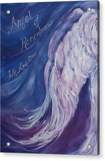 Angel Of Remembrance Acrylic Print