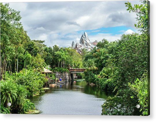 Expedition Everest Acrylic Print