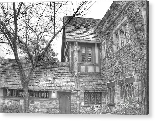 Annex At Ringwood Manor With Tree Acrylic Print