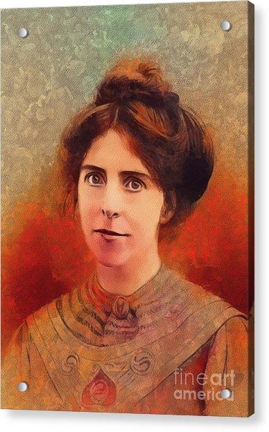 Annie Kenney, Suffragette Acrylic Print