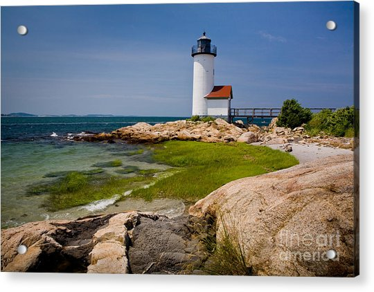 Annisquam Harbor Light Acrylic Print