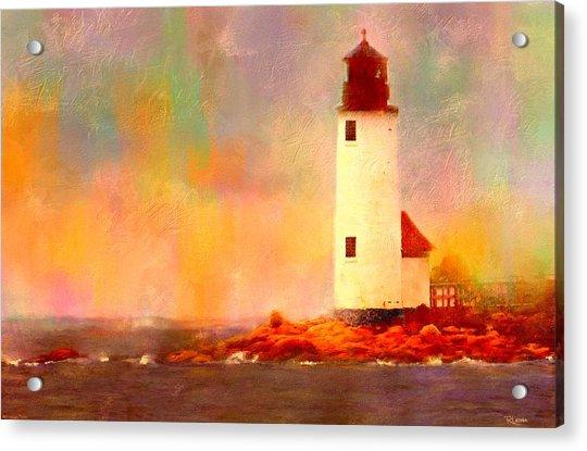 Annisquam Rainbow Acrylic Print