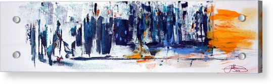 Another Day In New York City Acrylic Print