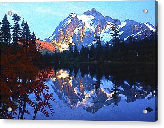 Another Shuksan Reflection Acrylic Print