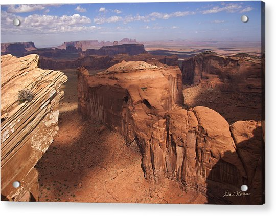 Another View From Hunt's Mesa Acrylic Print