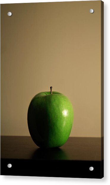 Acrylic Print featuring the photograph Apple by Break The Silhouette