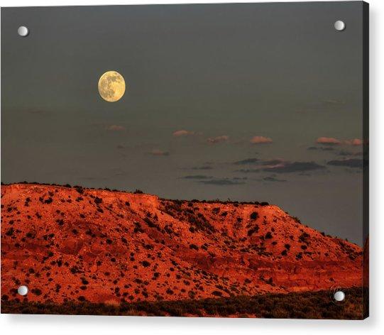Arizona Supermoon 001 Acrylic Print