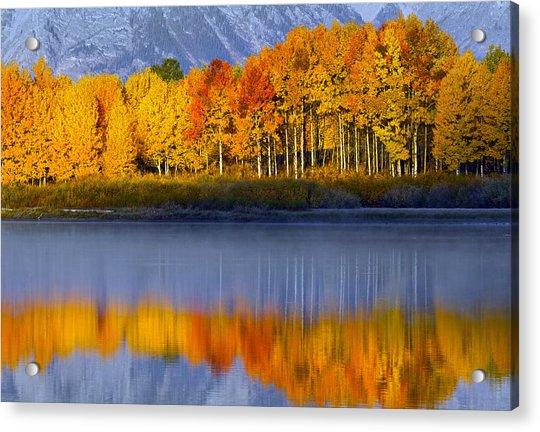 Aspen Reflection Acrylic Print