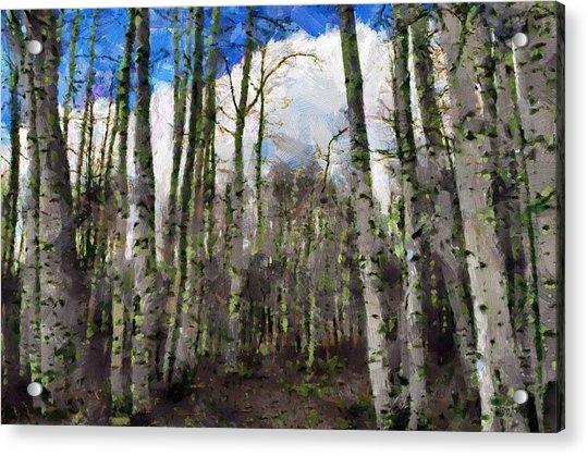Aspen Standing Acrylic Print