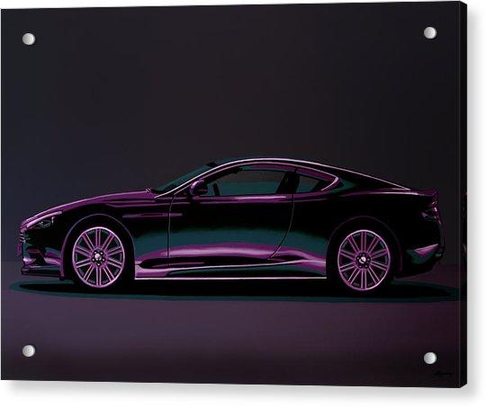 Aston Martin Dbs V12 2007 Painting Acrylic Print