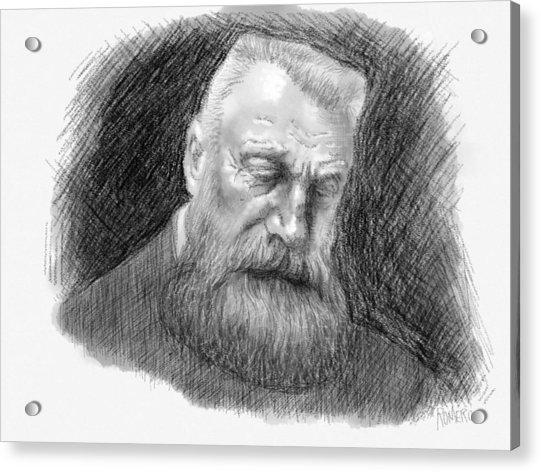 Auguste Rodin Acrylic Print