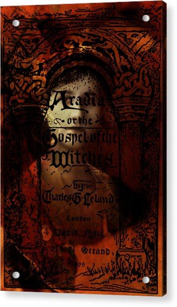 Autumn Aradia Witches Gospel Acrylic Print