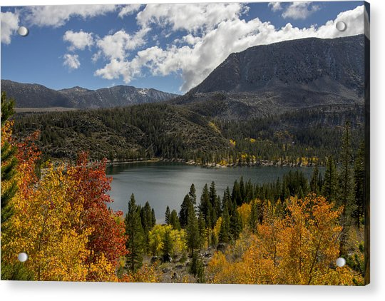Autumn At Rock Creek Lake Acrylic Print
