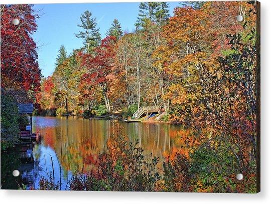 Autumn At The Lake 2 Acrylic Print