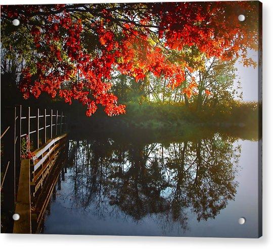 Autumn Creek Magic Acrylic Print