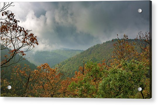 Autumn In The Ilsetal, Harz Acrylic Print