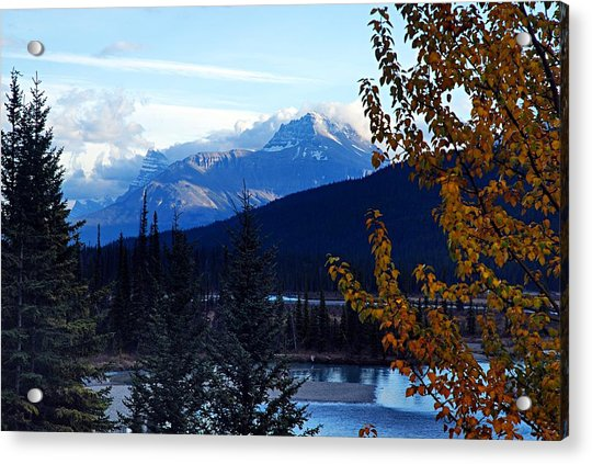 Autumn In The Mountains Acrylic Print