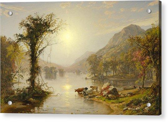 Autumn On Greenwood Lake Acrylic Print