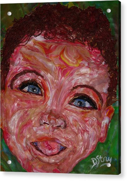 Azuriah Acrylic Print