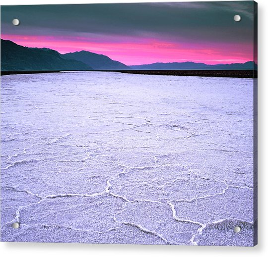 Badwater 282 Feet Below Sea Level Acrylic Print