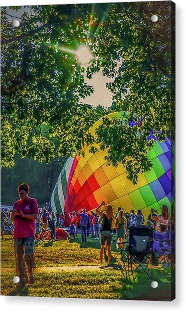 Balloon Fest Spirit Acrylic Print