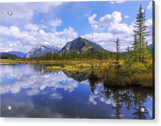 Banff Reflection Acrylic Print