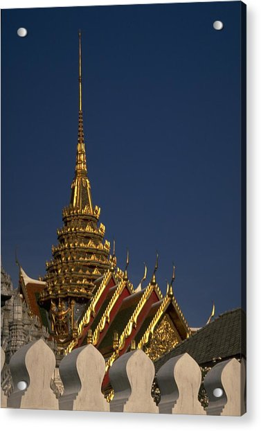 Photograph - Bangkok Grand Palace by Travel Pics