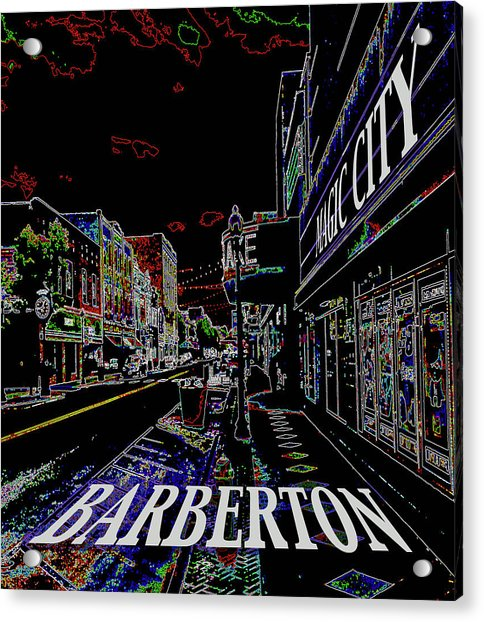 Barberton The Magic City Acrylic Print