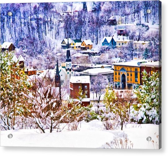 Barre From Bdp Acrylic Print