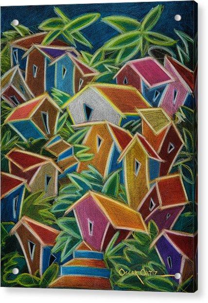 Barrio Lindo Acrylic Print