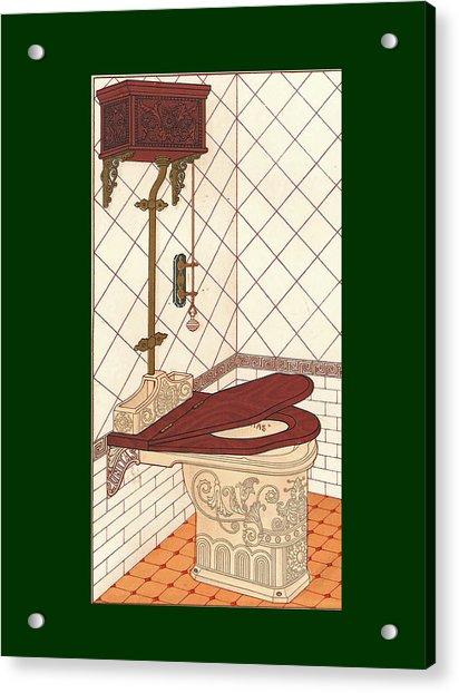 Bathroom Picture One Acrylic Print