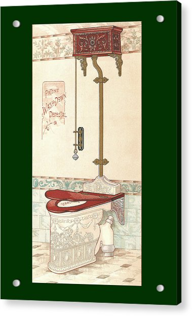 Bathroom Picture Two Acrylic Print
