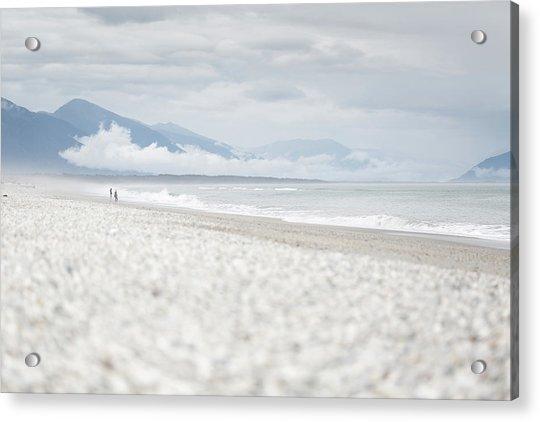 Beach For Two Acrylic Print