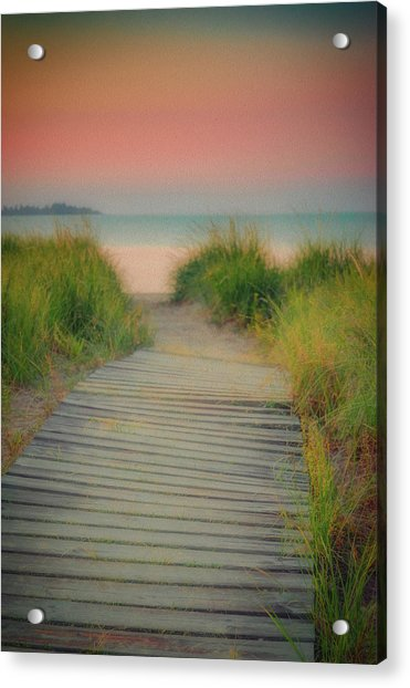 Beach Sunrise Acrylic Print