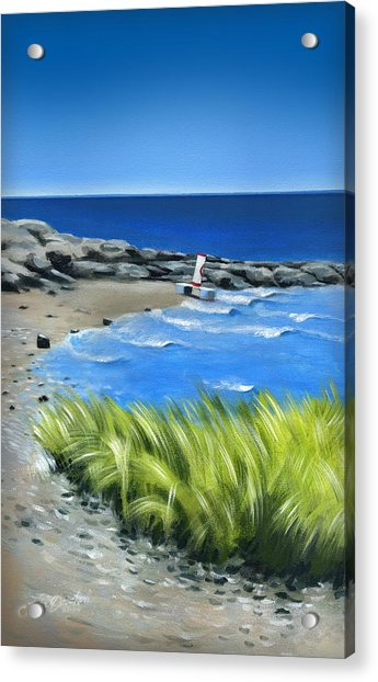 Beached Buoy Acrylic Print