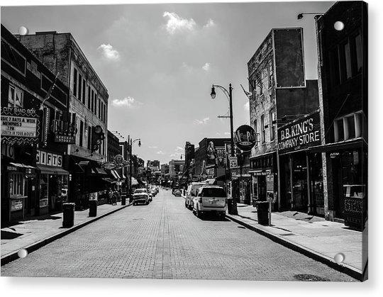 Beale Street Basics Acrylic Print
