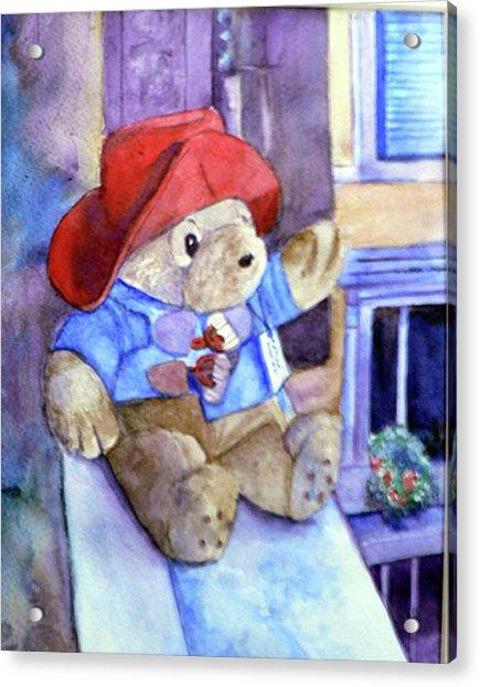 Bear In Venice Acrylic Print