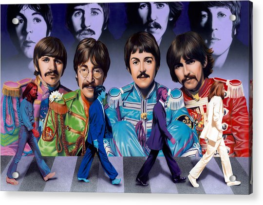 Beatles - Walk Away Acrylic Print