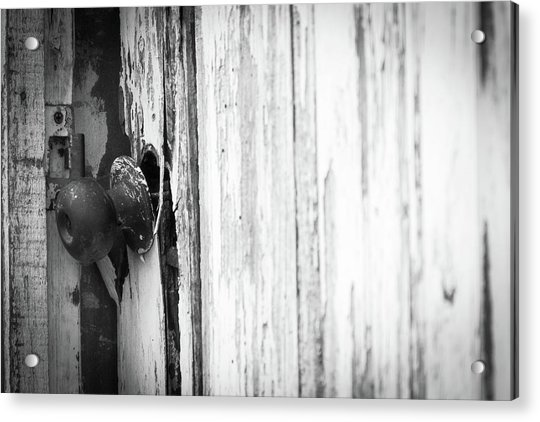 Behind Closed Doors Acrylic Print