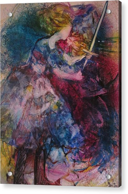 Believe And Decree Acrylic Print