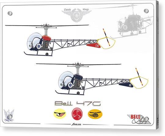 Bell 47g Acrylic Print