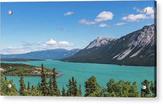 Tagish Lake Acrylic Print