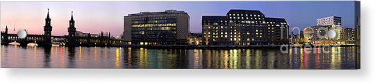 Acrylic Print featuring the photograph Berlin 360 Grad  by Juergen Held