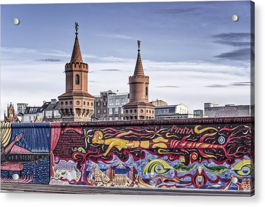 Acrylic Print featuring the photograph Berlin Wall by Juergen Held
