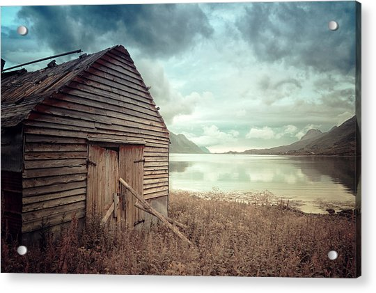 Beside The Lake Acrylic Print