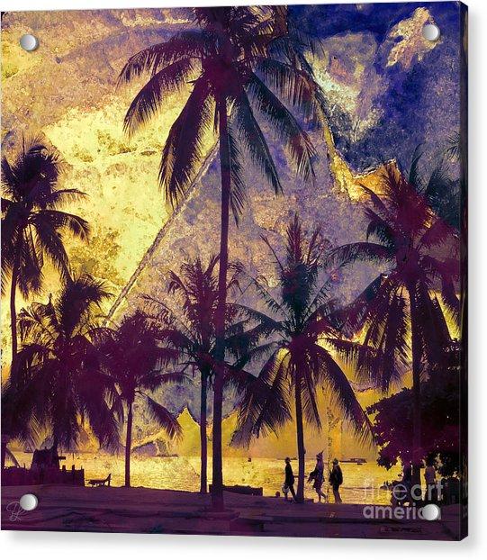 Beside The Sea Acrylic Print