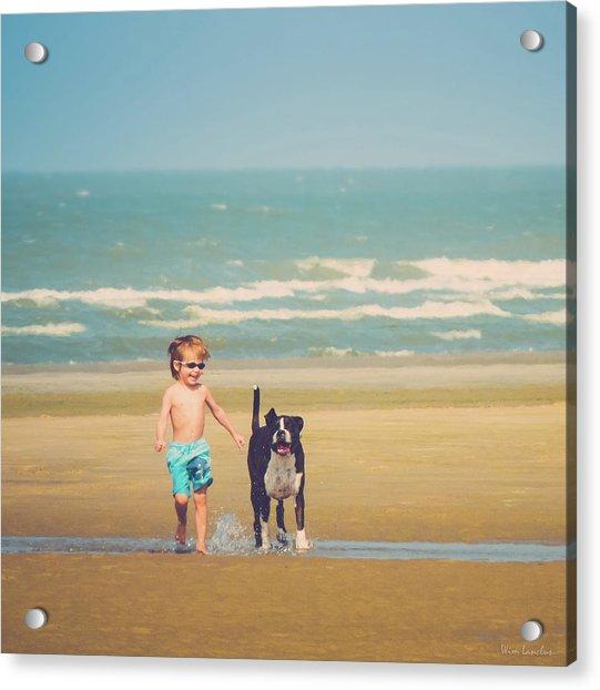 Best Friends Acrylic Print