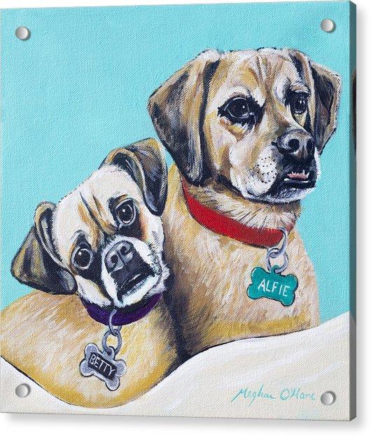 Betty And Alfie Acrylic Print