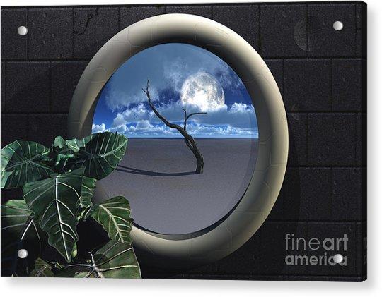 Beyond Walls Acrylic Print